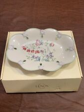 Lenox Spring Bouquet Dish / Jewelry Tray ~ New In Box