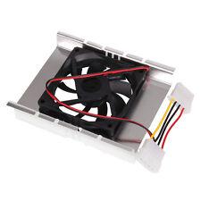 "3.5"" HDD/HD Hard Disk Drive Cooler Cooling Fan Heatsink  4 pin connector"