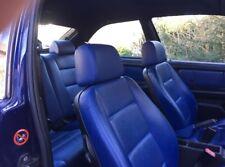 BMW E36 Compact komplette LEDER Innenausstattung Blau Sitzheizung