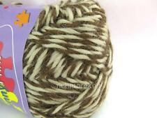 Alpaca Wool Brown Chocolate Knitting Crochet Yarn 50g  worsted