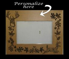 Personalized Engraved Deer Hunting  Frame Gift, Buck