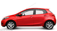 For: MAZDA2 Painted Body Side Mouldings Moldings Trim 2011-2014