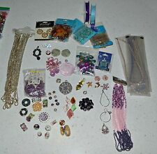 Big Box of Beads and More Plus Plastic Bead Containers and Earring Displays