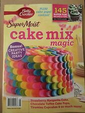 Betty Crocker Super Moist Cake Mix Magic Party Ideas Cupcake 2014 FREE SHIPPING!