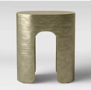 Project 62 Linberg Hammered Brass Pill Accent Table New Coffee Table Furniture