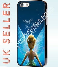 Disney Tinker Bell Peter Pan Quote Hard Phone Case Cover for Iphone and Samsung