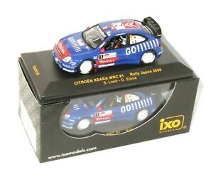 "1/43 Citroen Xsara WRC "" GO !!!!!!! ""  Rally Japan 2006 #1  S.Loeb / D.Elena"