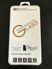 Premium tempered glass screen protector iphone X(back side), us seller