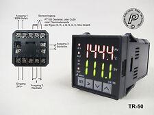 TR-50 PID u. 2/3-Punkt Multi- Temperaturregler Relais u. SSR