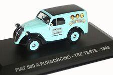 Nice 1/43 Fiat 500A Furgoncino Tre Teste Vadis Belgium Limited Numbered