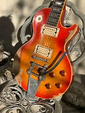 Gibson Les Paul 59 Burst With Gibson Custom Shop Case Bigsby