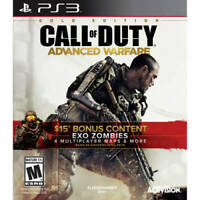Activision Call of Duty: Advanced Warfare (Gold Edition) (PlayStation 3, 2015)