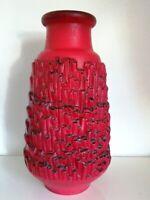 Keramik Vase Relief CARSTENS Floorvase Bodenvase Fat Lava 7580 - 50  BASALT WGP