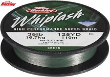 Tresse Berkley Whiplash 0.16mm 19,800kg 110m green
