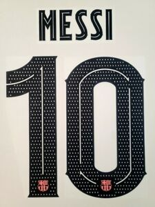 2019/21 FC Barcelona #10 Messi Name set Player issue League / Champions league