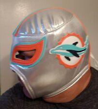 NFL Miami DOLPHINS  Lucha Libre Super Fan Mask