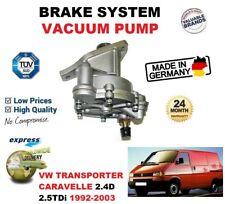 für VW Transporter Caravelle 2.4D 2.5TDI 1992-03 BREMSANLAGE Vakuum + DICHTUNG