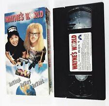 WAYNE'S WORLD (VHS, 1992, PG-13) MIKE MYERS, DANA CARVEY, TIA CARRERA, ROB LOWE