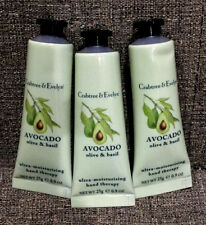 Crabtree and Evelyn Hand Therapy – RARE Lot of 3, 0.9oz each of Avocado Scent