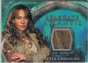 STARGATE ATLANTIS SEASON 1 - TEYLA EMMAGAN COSTUME CARD