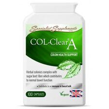 Col Chiaro i due punti & Detergente intestinali. 100 Capsule: sostegno interno purificare