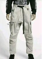 Men's Nike Lab ACG Cargo Pants Trousers Beige Khaki Size L Large BQ7293-286