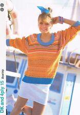 Boat TRIP Tejer patrón, Suéter-Marshall Cavendish FOLLETO DK15