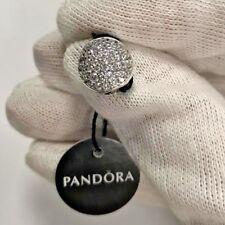 NEW! Authentic PANDORA Pavé Sphere Charm, Clear CZ 797540CZ