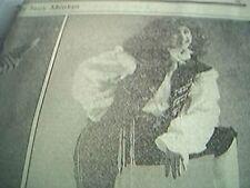 news item 1981 article teenage fashion suzy menkes