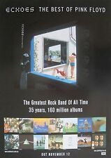 "PINK FLOYD ""ECHOES - GREATEST ROCK BAND OF ALL TIME"" AUSTRALIAN PROMO POSTER"