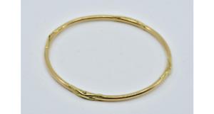très joli Bracelet jonc OR 18 carats 750/°°° 14,6grs