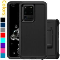 For Samsung Galaxy S20 / S20 Plus / Ultra 5G Defender Case w/ Clip fits Otterbox