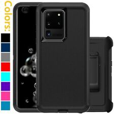 For Samsung Galaxy Note 20 20 Ultra Defender Hard Case w/Belt Clip fits Otterbox