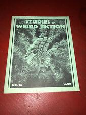 Studies in Weird Fiction No.16 Necronomicon Press 1995