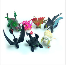 7 PCS/set How To Train Your Dragon action Figure Toys playset kid Gift US Seller