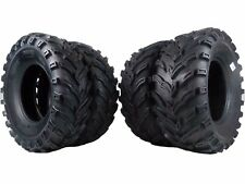 4 New (2x) 26x9-12 (2x) 26x11-12 MS MASSFX TIRE SET ATV TIRES 6 PLY 26""