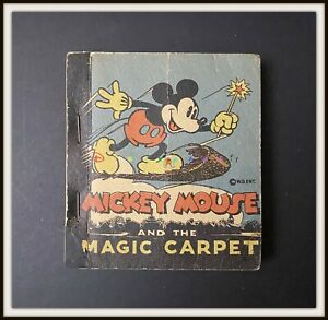 ⭐ MICKEY MOUSE and the MAGIC CARPET - Whitman Disney 1935 - DISNEYANA.IT ⭐