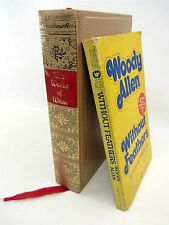2 Lot Woody Allen Without Feathers & The Works of  OSCAR WILDE 6 Volumes in One