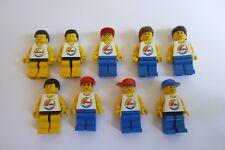 Città LEGO PARADISA MINIFIGURES PAR058, PAR062, PAR057, PAR063, PAR059, TWN070 x 9