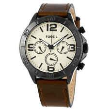 Fossil Classic Quartz Movement White Dial Men's Watches BQ7014