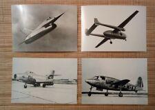 4 carte postale avion Griffon 002 S0 6000 Triton AMD 450 Ouragan Nord 2500