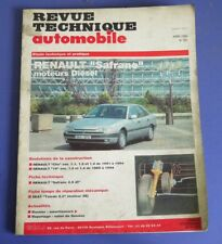 Revue technique automobile rta 561 1994 renault safrane diesel