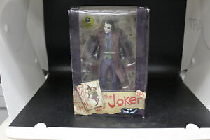 "NECA 7"" Heath Ledger DC Comics Batman Dark Knight Joker Action Figure Toy 7"""