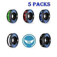 [5 Packs] SainSmart 250g/ 0.55lb Small Spool TPU Flexible 1.75mm 3D Filament