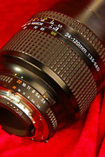 Immaculate! NIKON AF 24 - 120mm f3.5-5.6 D Auto Focus 35mm ZOOM LENS Complete!
