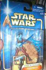 STAR WARS ATTACK OF THE CLONES AAYLA SECURA, NEVER OPENED.