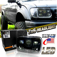 "7x6"" LED Built In CREE HID Bulb Seal Beam Low Beam Headlight Headlamp Assembly 1"