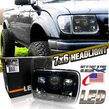 "7x6"" LED Built In CREE HID Bulbs Seal Beam Low Beam Headlight Headlamp Assembly"