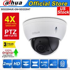 Dahua Starlight PTZ 4X Zoom 1080P Dome Smart IP Camera IP67 IR SD22204UE-GN