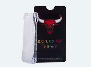 iPhone 8/7/6 Premium Nano BlueRay Explosion-proof Soft Membrane Protector W/Case